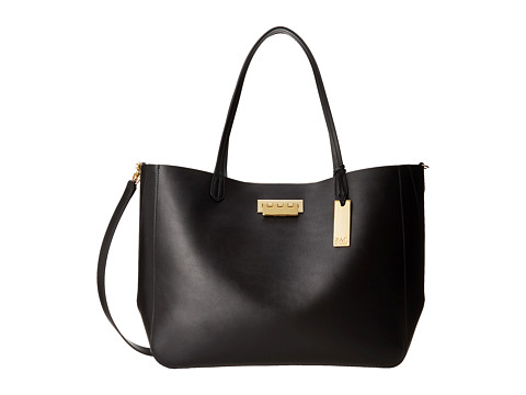 ZAC Zac Posen - Eartha Everyday Shopper (Black) Tote Handbags