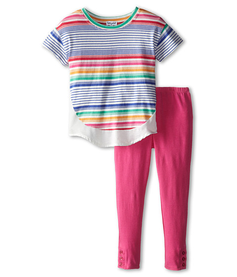 Splendid Littles - Fashion Stripe Pant Set (Toddler) (Multi) Girl