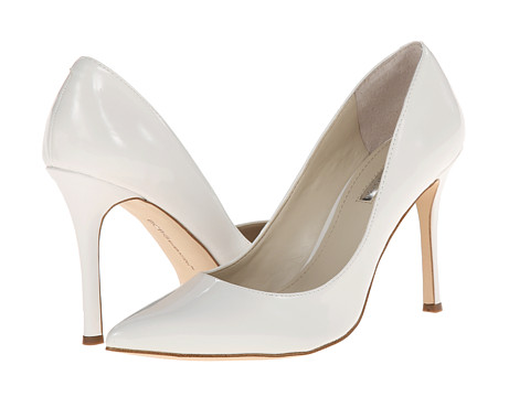 BCBGeneration - Treasure (White Patent P) High Heels