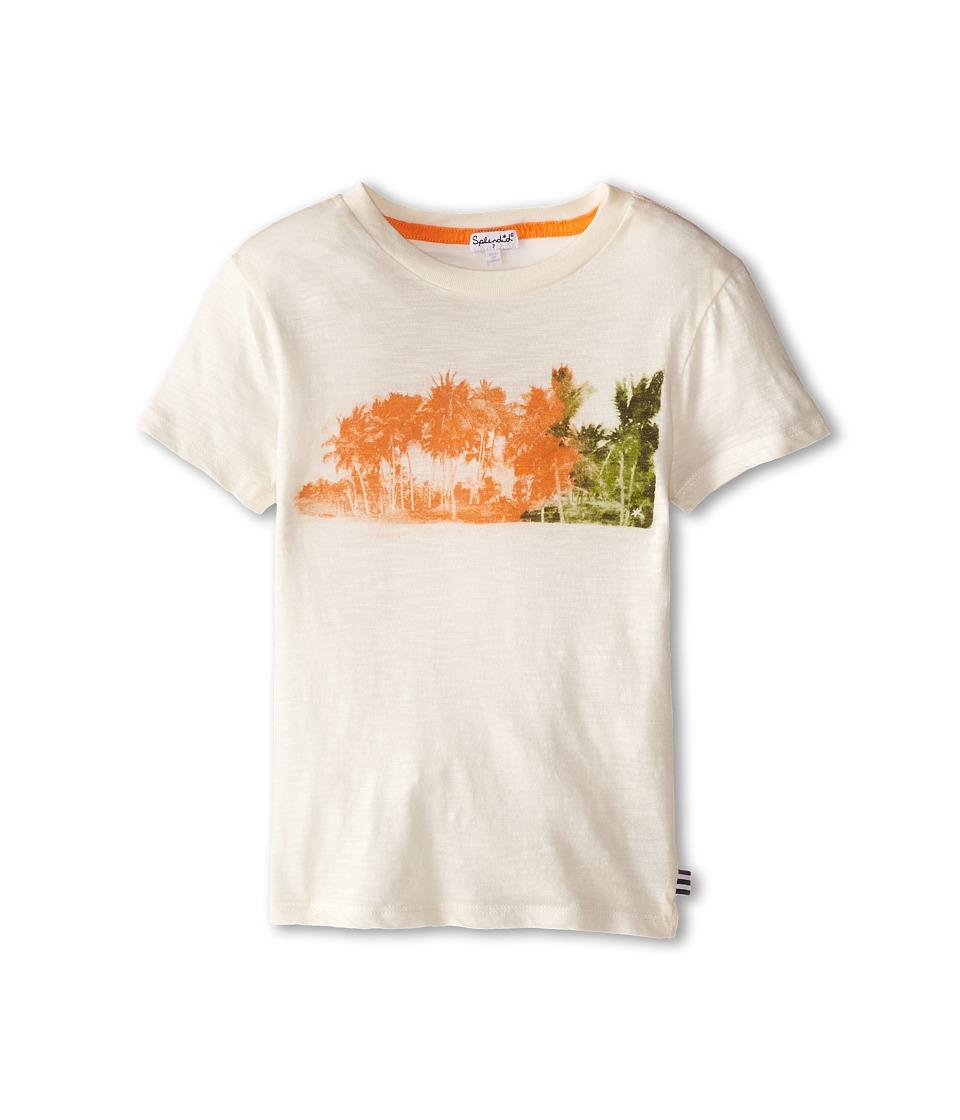 Splendid Littles - Graphic Tee (Little Kids) (Beige) Boy's T Shirt