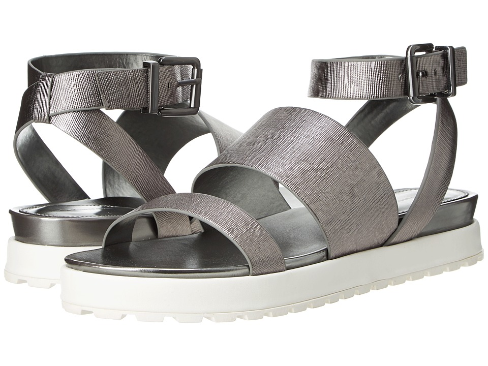 BCBGeneration - Ellis (Silver Etched Metallic) Women's Sandals