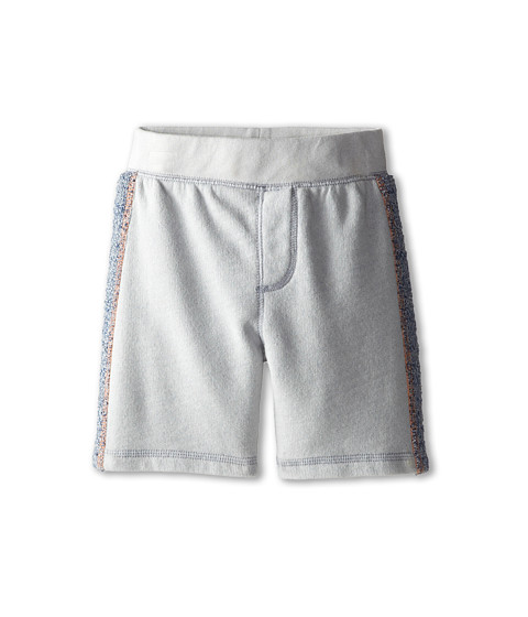 Splendid Littles - Active Overdyed Short (Toddler) (Light Grey) Boy's Shorts