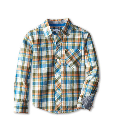 Splendid Littles - Woven Plaid Shirt (Little Kids) (Plaid) Boy's Clothing