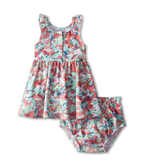 Splendid Littles - Abstract Floral Print Dress (Infant) (Print) Girl