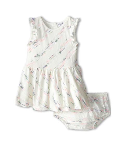 Splendid Littles - Fashion Stripe Dress (Infant) (White) Girl