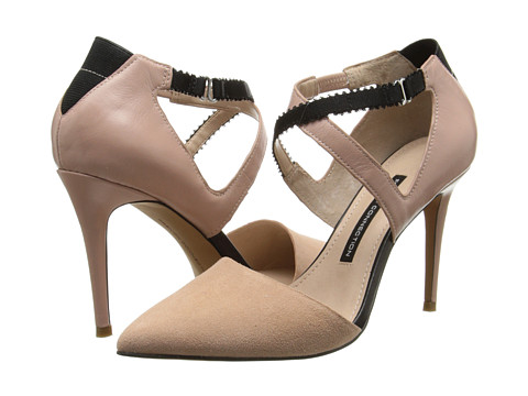 French Connection - Elma (New Blush/Black) High Heels