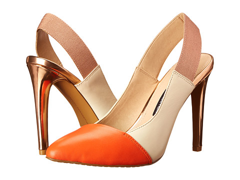 French Connection - Maemi (Orange/Barley Sugar/Rose) High Heels