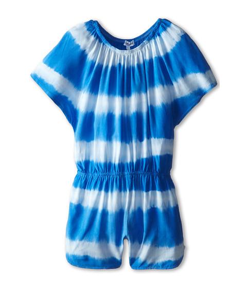Splendid Littles - Tie-Dye Stripe Romper (Little Kids) (Blue) Girl
