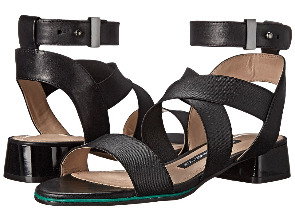 French Connection - Corazon (Black) Women's Sandals