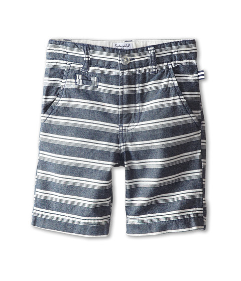 Splendid Littles - Woven Stripe Short (Little Kids) (Stripe) Boy's Shorts