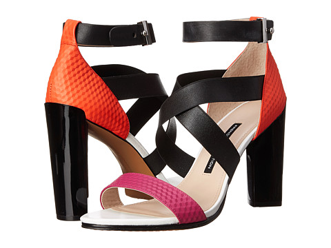 French Connection - Melody (South Beach/Black) High Heels
