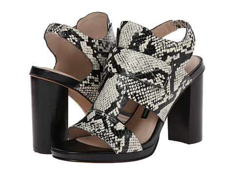 French Connection - Toni (Black/White/Black/White) High Heels