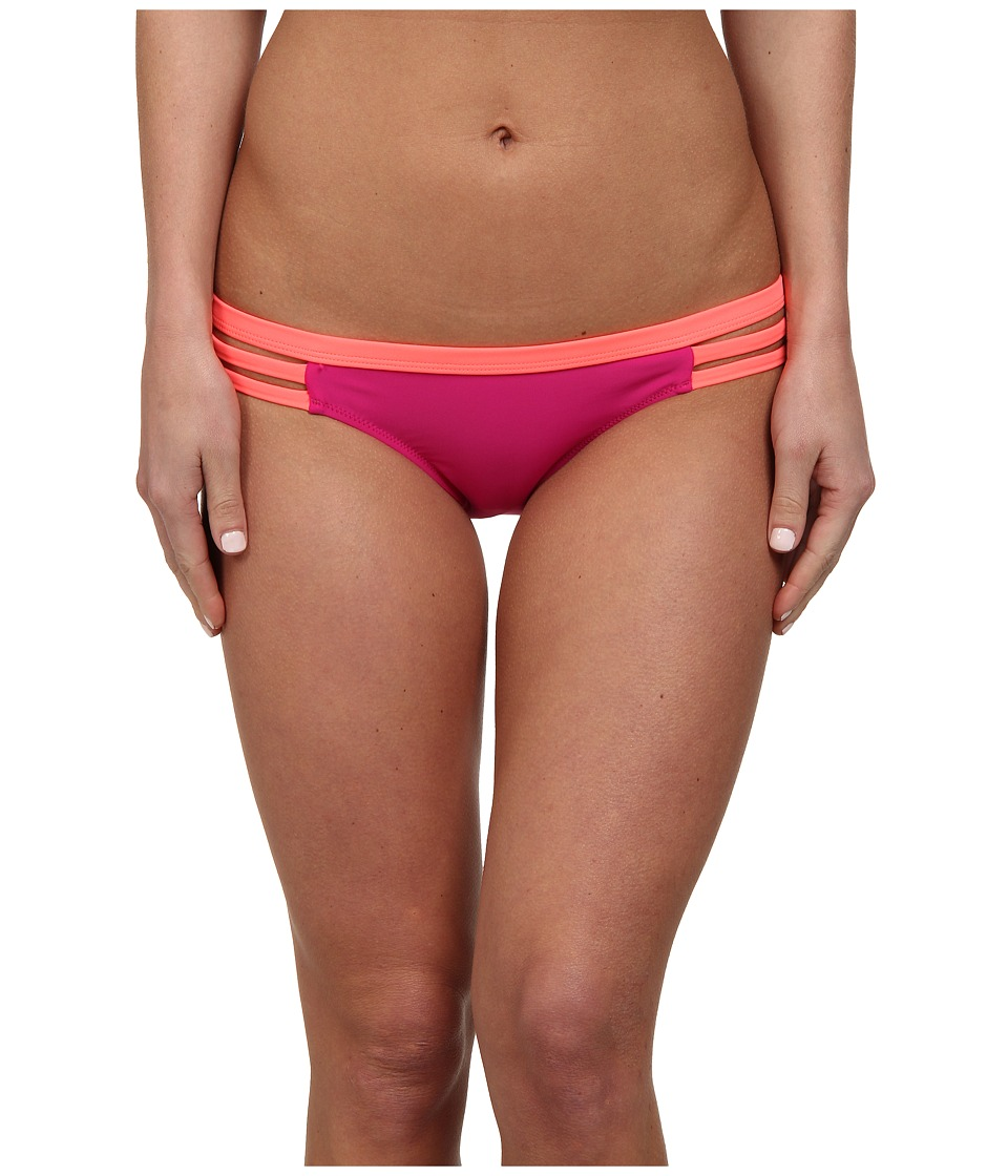 Volcom - Beachblock Full Bottom (Very Berry) Women's Swimwear