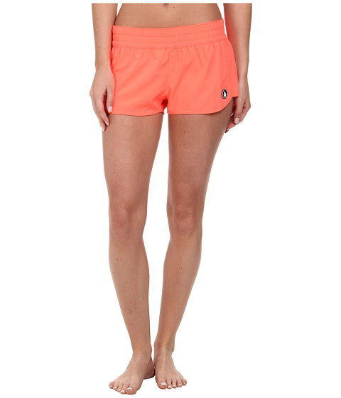 Volcom - Simply Solid 2 Boardshort (Electric Coral) Women's Swimwear