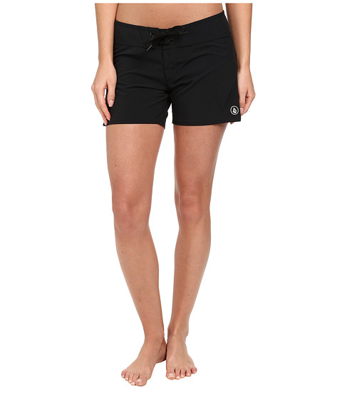 Volcom - Simply Solid 5 Boardshort (Black) Women