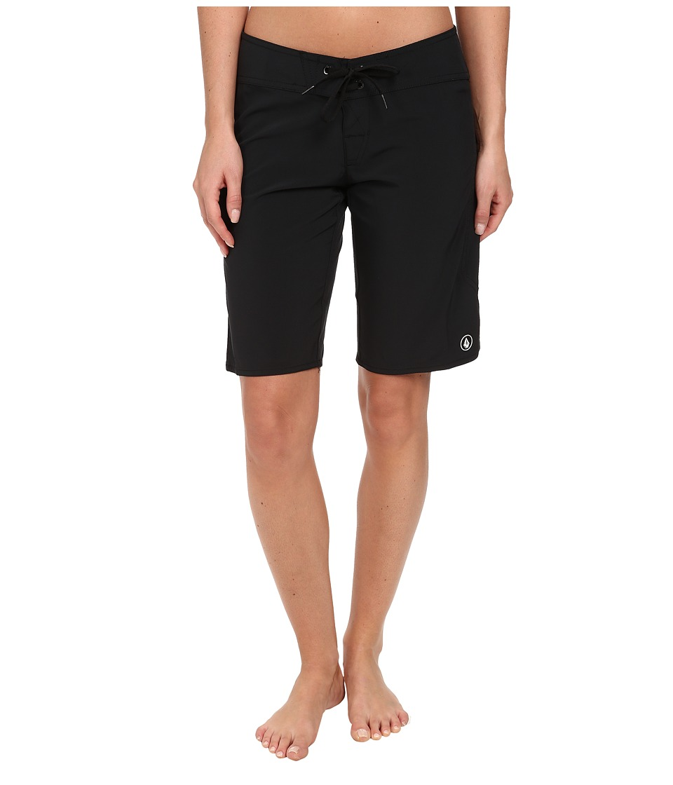 Volcom - Simply Solid 11 Boardshort (Black) Women's Swimwear