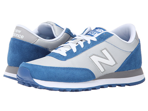 New Balance Classics - WL501 (Grey/Blue) Women's Classic Shoes