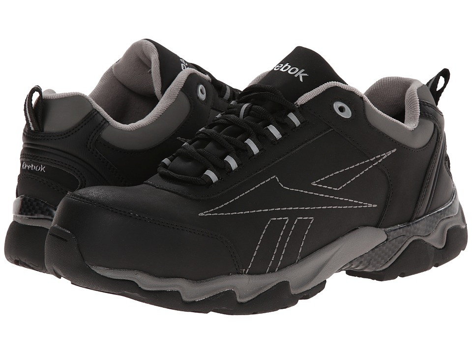 Reebok Work - Beamer 1 Low (Black) Men's Work Boots