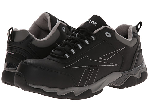 Reebok Work - Beamer 1 Low (Black) Men's Work Boots