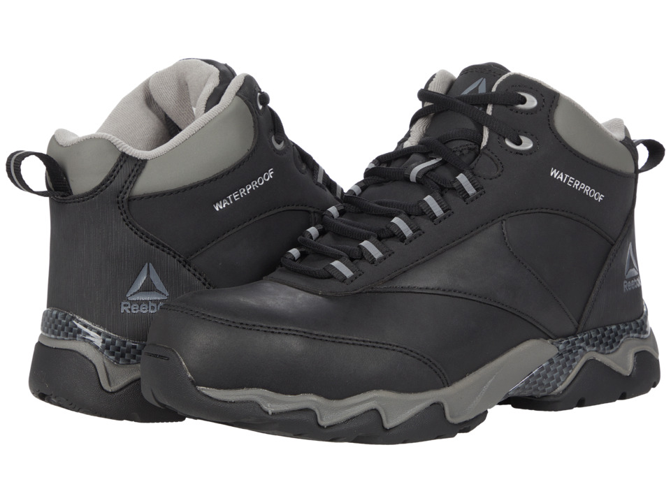Reebok Work - Beamer 1 (Black) Men's Work Boots