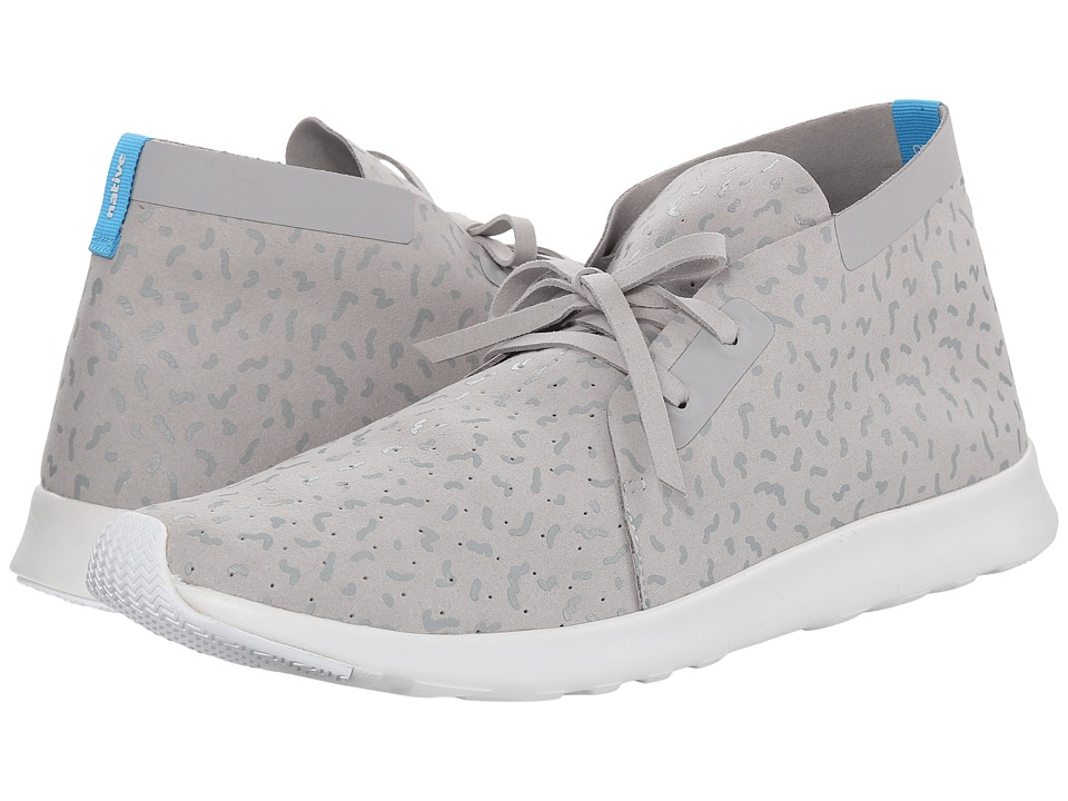 Native Shoes - Apollo Chukka (Pigeon Grey/Shell White/Biotic Print) Shoes
