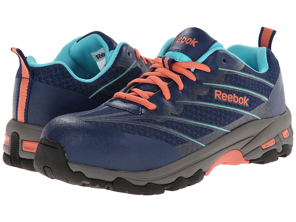 Reebok Work - Exline CT (Indigo/Coral) Women's Work Boots