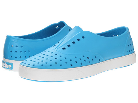 Native Shoes - Miller (Lucy Blue/Shell White) Slip on Shoes
