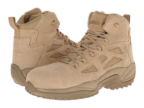 Reebok Work - Rapid Response RB 6 CT (Desert Tan) Men's Work Boots