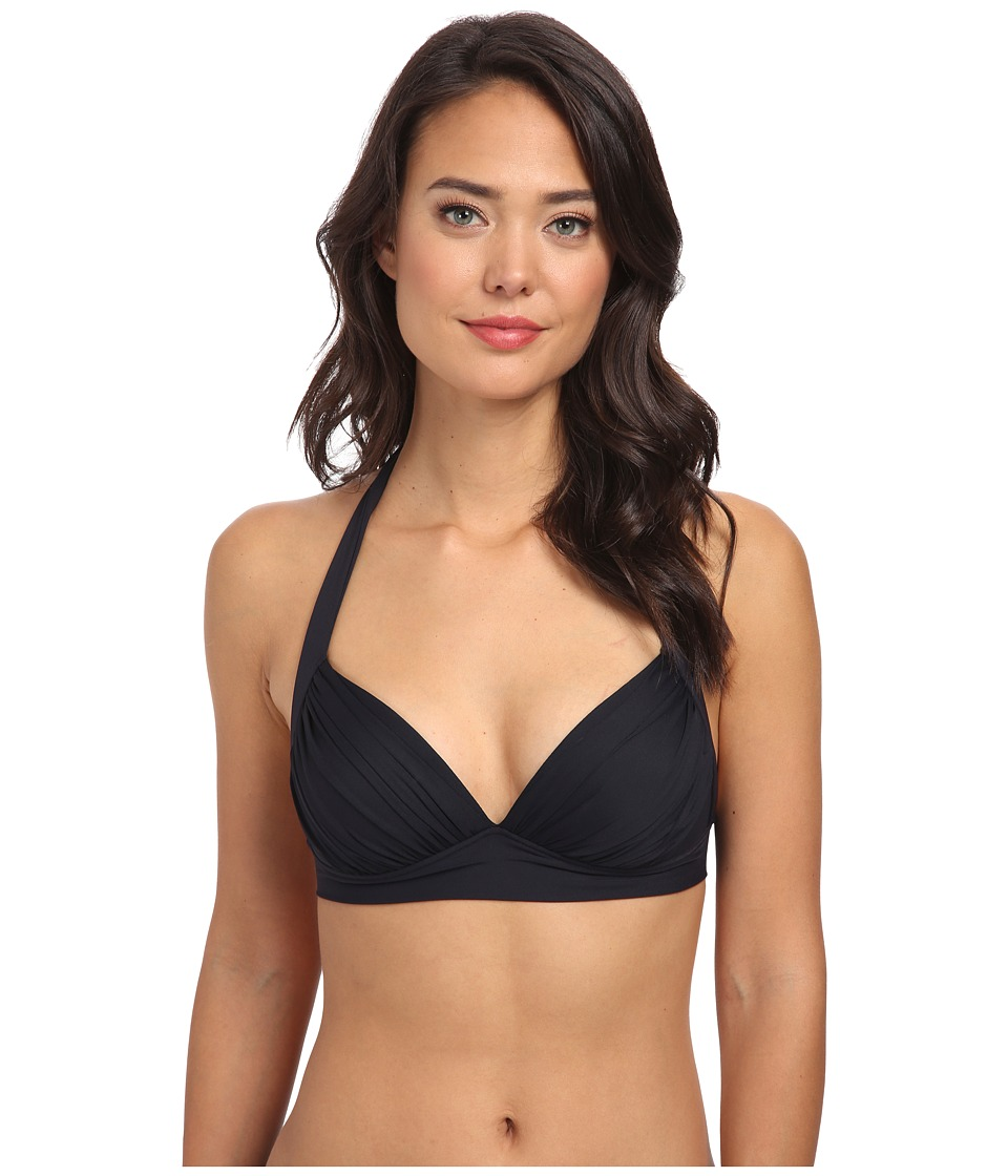 Bleu Rod Beattie - American Hustle Cup Halter Top (Black) Women's Swimwear
