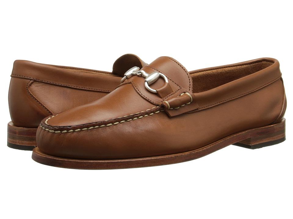 Allen-Edmonds - Concord Ave (Tan Saddle Leather) Men