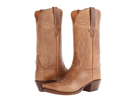 Lucchese - L1689.54 (Buck Oil Calf) Cowboy Boots