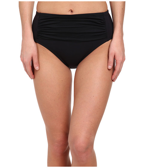 Bleu Rod Beattie - American Hustle Retro High Waist Bottom (Black) Women's Swimwear