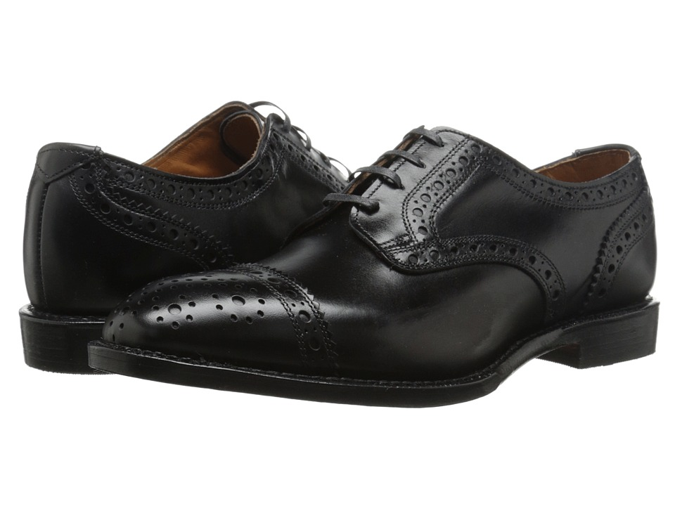 Allen Edmonds - Rogue (Black Custom Calf) Men's Shoes