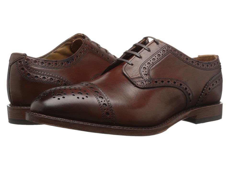 Allen Edmonds - Rogue (Dark Chili Burnished Calf) Men's Shoes