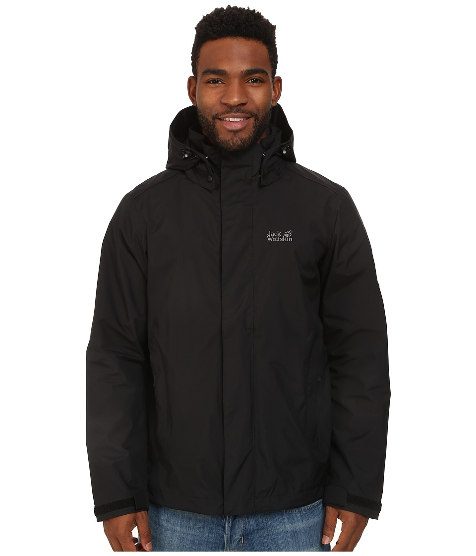 Jack Wolfskin - Highland (Black) Men's Clothing