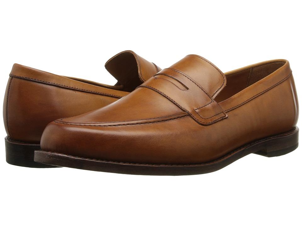 Allen-Edmonds - Ascher (Walnut Burnished Calf) Men's Flat Shoes