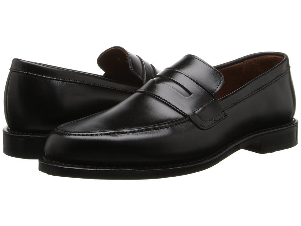 Allen-Edmonds - Ascher (Black Custom Calf) Men's Flat Shoes