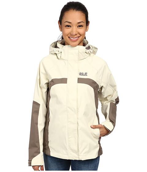 Jack Wolfskin - Topaz Jacket II (White Sand) Women's Jacket