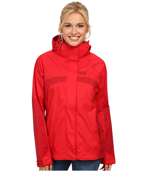 Jack Wolfskin - Topaz Jacket II (Red Fire) Women