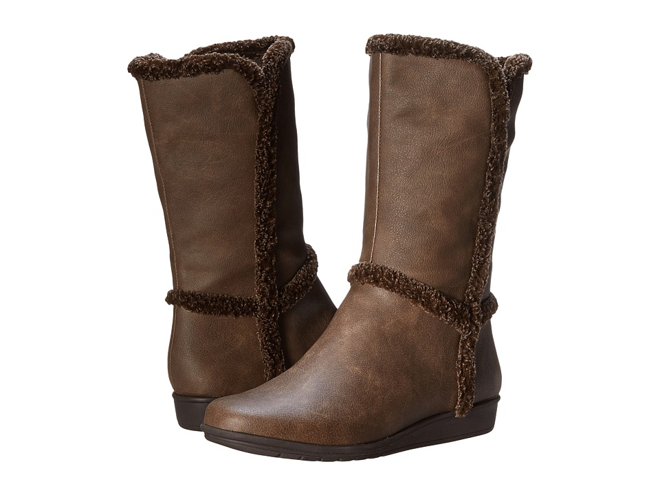 Easy Spirit - Jobina (Dark Brown/Dark Brown Synthetic) Women
