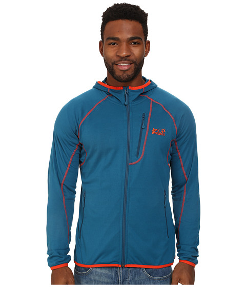 Jack Wolfskin - Rock Sill Jacket (Moroccan Blue) Men