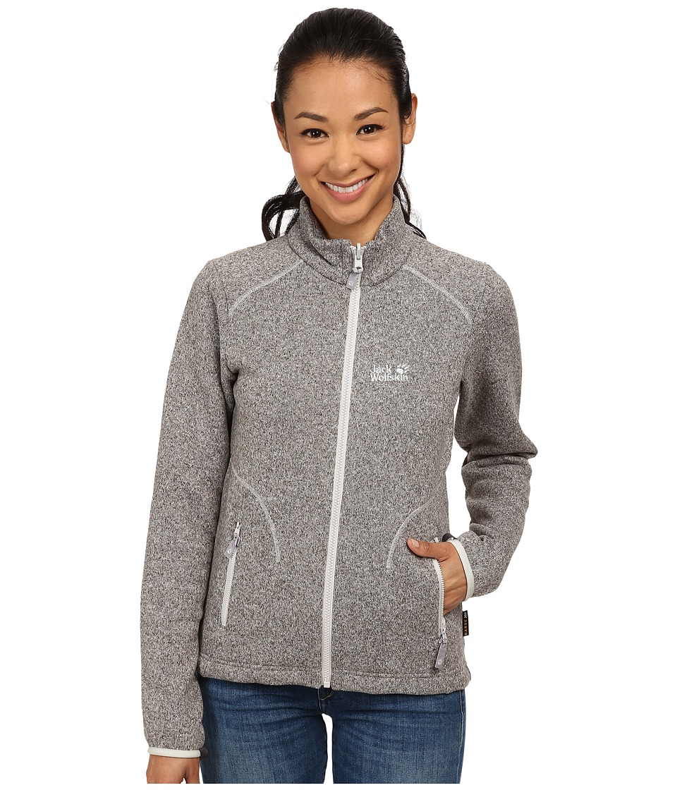 Jack Wolfskin - Caribou Asylum Jacket (Light Grey) Women's Jacket