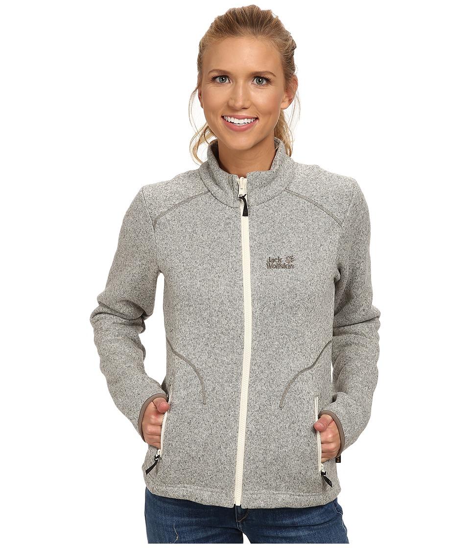 Jack Wolfskin - Caribou Asylum Jacket (White Sand) Women's Jacket