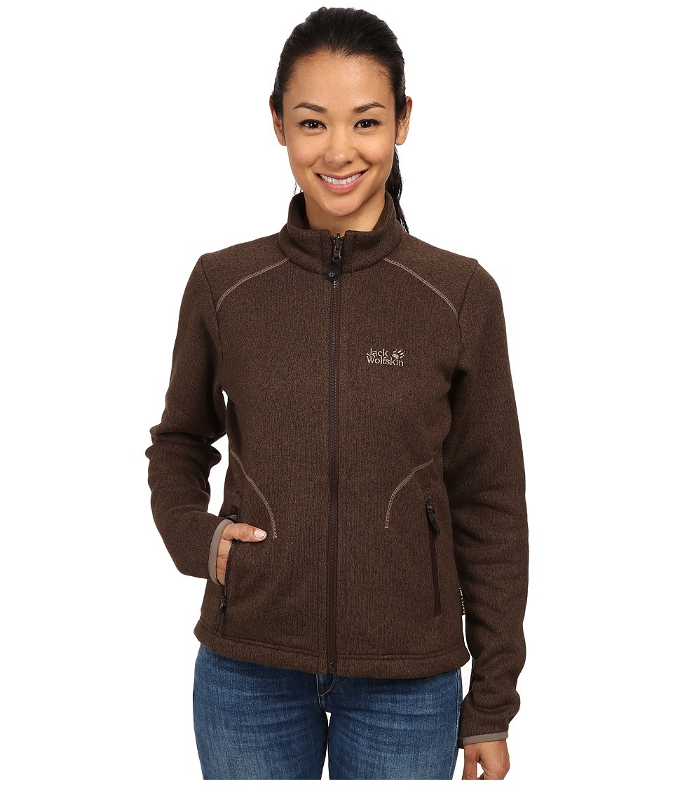 Jack Wolfskin - Caribou Asylum Jacket (Mocca) Women's Jacket