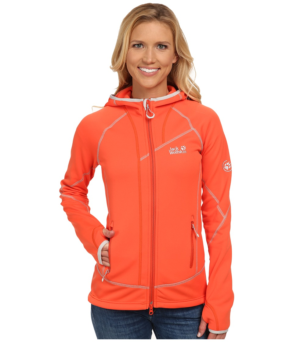 Jack Wolfskin - Prime Dynamic Jacket (Flame Orange) Women