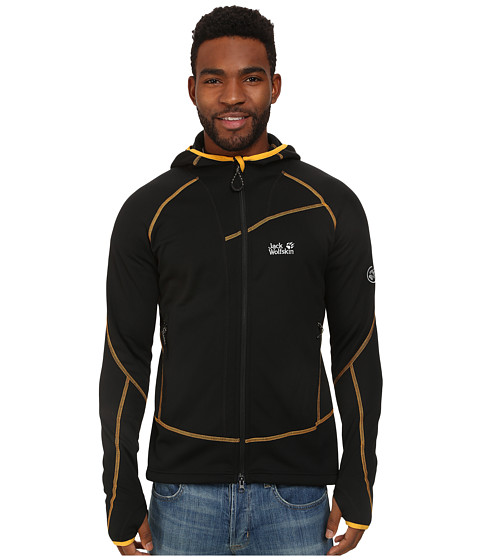 Jack Wolfskin - Prime Dynamic Jacket (Black) Men's Fleece