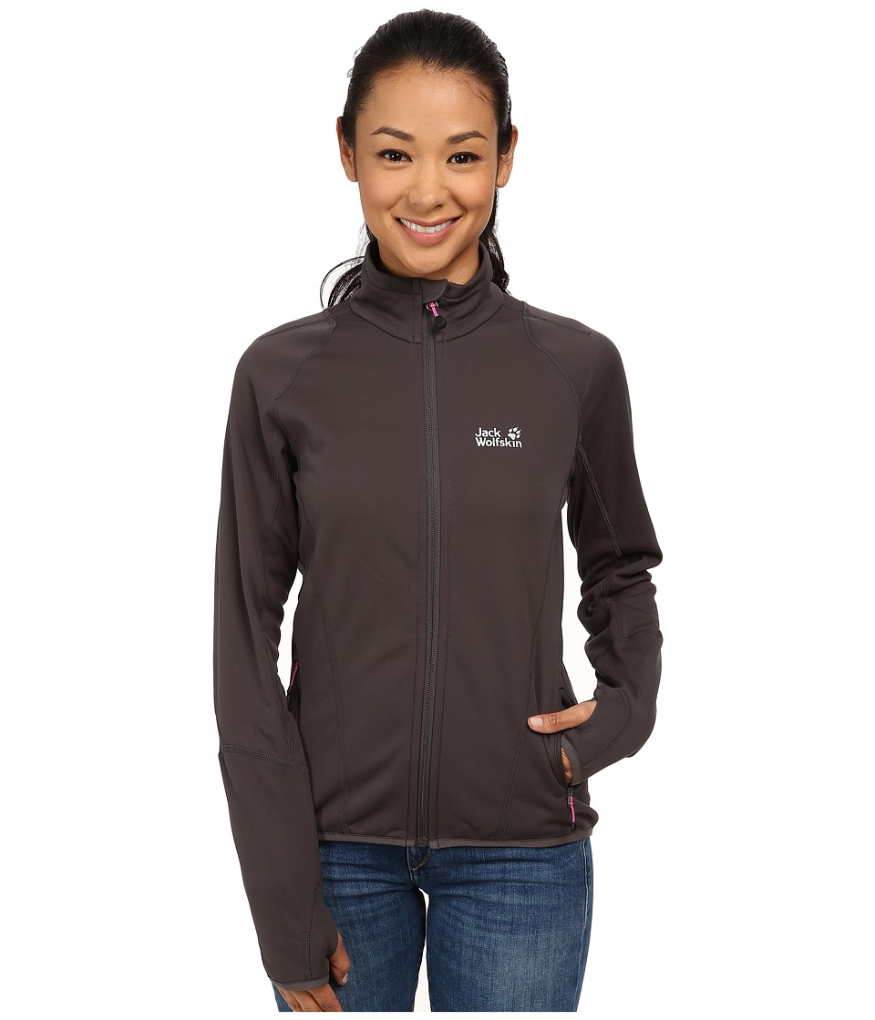 Jack Wolfskin - Transitive Nanuk Jacket (Dark Steel) Women's Jacket