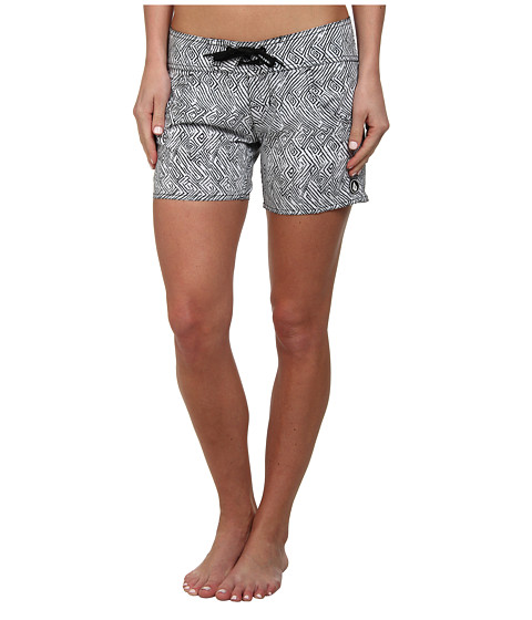 Volcom - Urban Tribe 5 Boardshort (White) Women