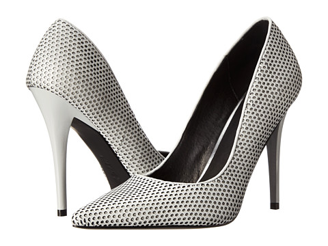 L.A.M.B. - Bee (Light Grey/Black) High Heels