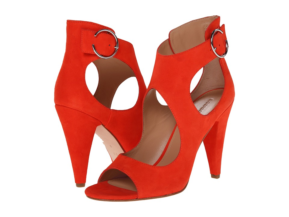 Sigerson Morrison - Major (New Red Suede) Women